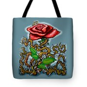 Rose N Thorns Tote Bag