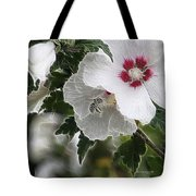 Rose Of Sharon And Bee Tote Bag