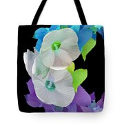 Rose Of Sharon Painted Tote Bag