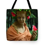 Rose Of The Garden Tote Bag