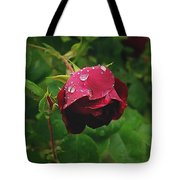 Rose On The Vine Tote Bag