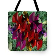 Rose Orchid Tote Bag