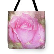 Enjoy A Rose Soft Pastel Tote Bag