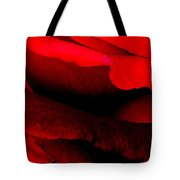 Rose Red Tote Bag by Dana Patterson
