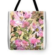 Rose Refraction Tote Bag