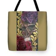 Rose Skull  Tote Bag