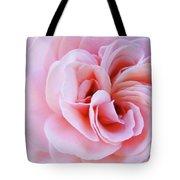Rose Spiral Art Pink Roses Floral Baslee Troutman Tote Bag