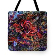 Rose Tile Tote Bag