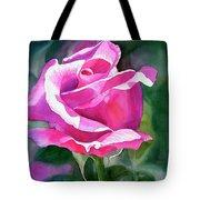 Rose Violet Bud Tote Bag