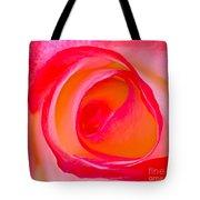 Rose Whorls Tote Bag