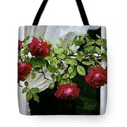 Rose Window Tote Bag