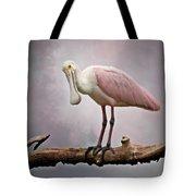 Roseate Spoonbill Costa Rica Tote Bag