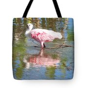 Roseate Spoonbill Young Adult Tote Bag