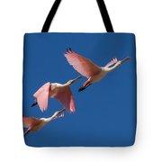 Roseate Trio Tote Bag