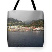Roseau Dominica Tote Bag