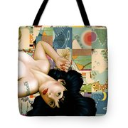 Rosebud Girl Tote Bag