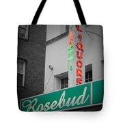 Rosebud Liquors Tote Bag