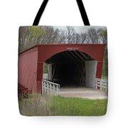 Roseman Covered Bridge - Madison County - Iowa Tote Bag
