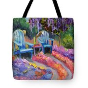 Roses And Fine Wine Tote Bag