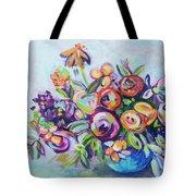 Roses And Kumquats Tote Bag