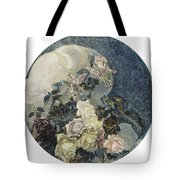 Roses And Orchids Tote Bag