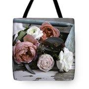 Roses And Rust Tote Bag