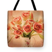 Roses And Tulips Tote Bag