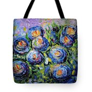 Roses Are Blue  Tote Bag