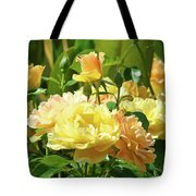 Roses Art Prints Rose Garden Flowers Giclee Prints Baslee Troutman Tote Bag