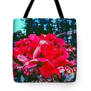Roses At Mont Alto Tote Bag