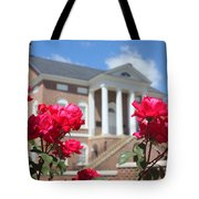 Roses At The Court House 2 Tote Bag