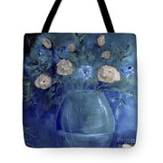 Roses For Him Painting Tote Bag