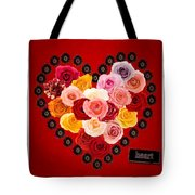 Roses For My Dear Love Tote Bag