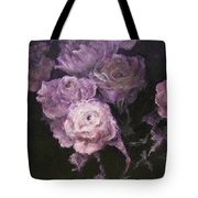 Roses In Mauve Tote Bag