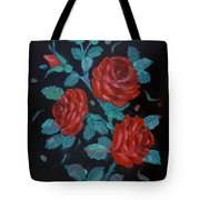 Roses In The Classic Style Tote Bag