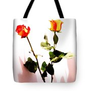 Roses In The Light Tote Bag