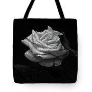 Roses In The Rain Tote Bag