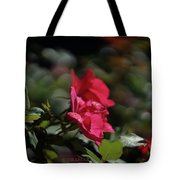 Roses In The Wind Tote Bag