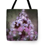 Roses Lilac And Shabby Pink Tote Bag