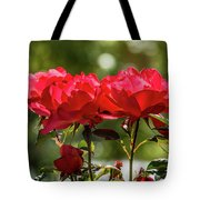 Roses On A Sunny Day Tote Bag