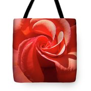 Roses Orange Rose Flower Spiral Artwork 4 Rose Garden Baslee Troutman Tote Bag