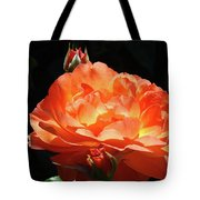 Roses Orange Rose Flowers Rose Garden Art Baslee Troutman Tote Bag