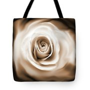 Rose's Whisper Sepia Tote Bag