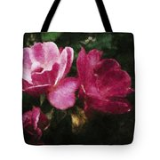 Roses With Texture Tote Bag