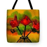 Rosey Afternoon Tote Bag