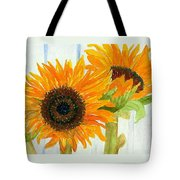 Rosezella's Sunflowers Tote Bag