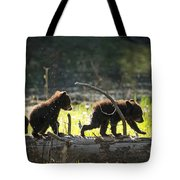 Rosie And Cubs Tote Bag