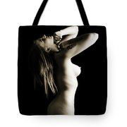 Rosie Nude Fine Art Print In Sensual Sexy 4605.01 Tote Bag