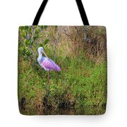 Rosie The Spoonbill Tote Bag