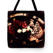 Rosses On A Flowing Dish Tote Bag
